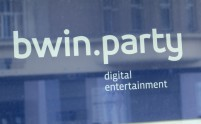BWIN (GebŠude), bwin Interactive Entertainment AG, Marxergasse 1 Citypoint (http://www.bwin.ag), Eingang aussen, Logo , bwin.party , http://www.bwinparty.com/