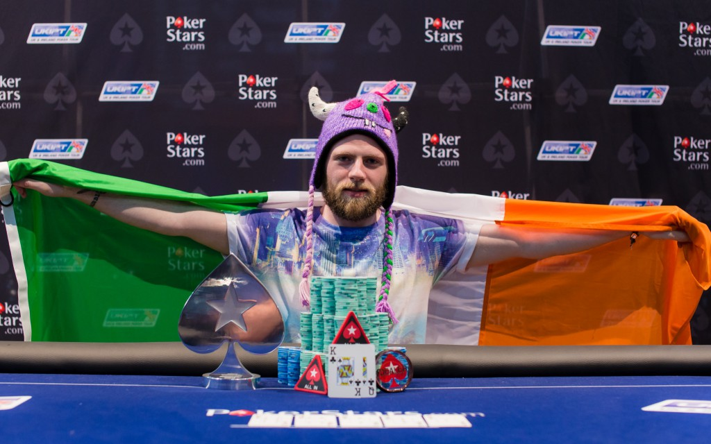 Kevin Killeen PokerStars UKIPT Dublin 2014 Winner